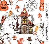 Happy Halloween Seamless...