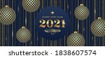 2021 new year greeting and... | Shutterstock .eps vector #1838607574