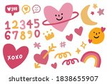 Vector Hand Drawn Elements Of...
