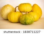 A Pile Of Ripe Pumpkins...