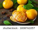 Winter Time Fruits. Fresh Juic...