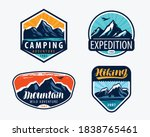 mountains set labels.... | Shutterstock .eps vector #1838765461