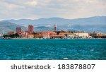 town koper  slovenia | Shutterstock . vector #183878807