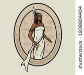 Egyptian Goddess Maat Logo...