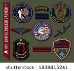 set of military and army badge... | Shutterstock .eps vector #1838815261