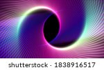 colorful geometric bright lines ... | Shutterstock . vector #1838916517