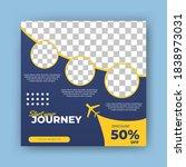 editable square banner template.... | Shutterstock .eps vector #1838973031