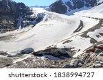 Glacier Taschachferner With...