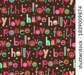 cute typographic design for... | Shutterstock .eps vector #1839009874