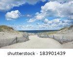 Big Blue Sky  Clouds And Dunes...