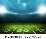 light of stadium | Shutterstock . vector #183907724