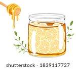Lemon Sliced With Honey In A...