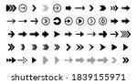 set black arrows for web design....   Shutterstock .eps vector #1839155971