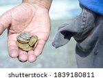 selective focus of coins in...   Shutterstock . vector #1839180811