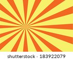 yellow sun sunburst pattern....