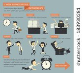 business people infographics  1 ...   Shutterstock .eps vector #183930281