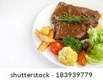 T Bone Steak With Fresh...