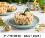 Olivier Salad. Traditional...