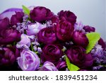 artificial purple and pink...   Shutterstock . vector #1839451234