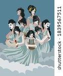 Greek Mythology Muses Clio ...