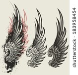 wings | Shutterstock .eps vector #183958454