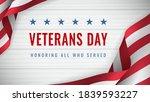 veterans day   honoring all who ...   Shutterstock .eps vector #1839593227