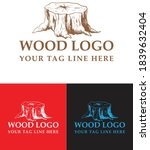 Wood Logo For Your Brand