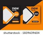 modern social media template... | Shutterstock .eps vector #1839639604