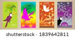 designs templates of summer and ... | Shutterstock .eps vector #1839642811