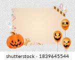 halloween party  background... | Shutterstock .eps vector #1839645544
