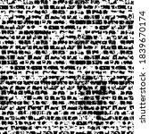 grunge black and white.... | Shutterstock .eps vector #1839670174