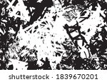 grunge texture black and white... | Shutterstock .eps vector #1839670201