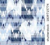 seamless  denim patchwork on...   Shutterstock .eps vector #1839715774