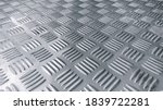 Small photo of checker plate abstract floor metal stainless background