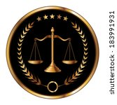 law or layer seal is an... | Shutterstock . vector #183991931