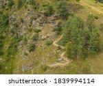 Aerial View  Alps  Switzerland  ...