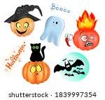 clip art for halloween party | Shutterstock . vector #1839997354