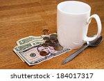 Tips  Money  Left On Table For...