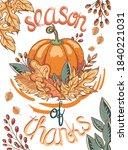 Thanksgiving Celebration Card....