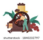 banner for coffee shop or...   Shutterstock .eps vector #1840232797