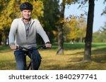 smiling mature caucasian man in ...   Shutterstock . vector #1840297741