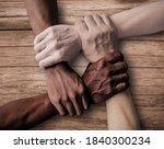 Small photo of Union Teamwork. Inclusiveness. Inclusive Company - Inclusive Society