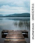 A Private Dock View Of A...
