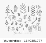set of different forms branch... | Shutterstock .eps vector #1840351777