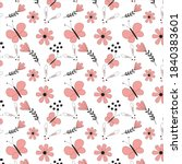 vector graphics pattern... | Shutterstock .eps vector #1840383601
