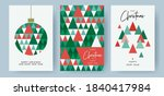 merry christmas and happy new... | Shutterstock .eps vector #1840417984