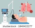 acute respiratory distress...   Shutterstock .eps vector #1840422277