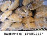 Frozen Bread In The Supermarket ...