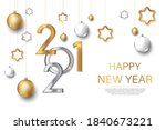 2021 new year background for... | Shutterstock .eps vector #1840673221