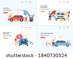 website banners set calling to... | Shutterstock .eps vector #1840730524